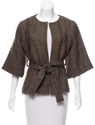 Marni Herringbone Cashmere Jacket