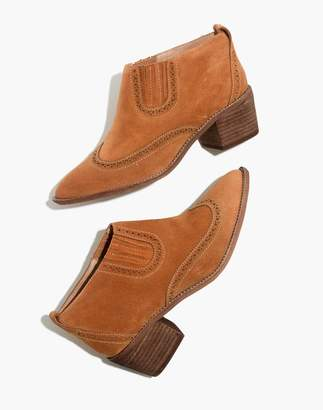 Madewell The Grayson Brogue Chelsea Boot