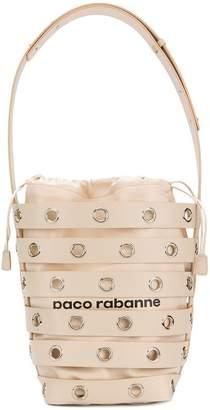 Paco Rabanne cage bucket shoulder bag