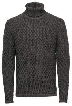 ONLY & SONS Knit Turtleneck Top