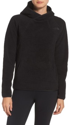 Women's The North Face Hooded Fleece Pullover $99 thestylecure.com