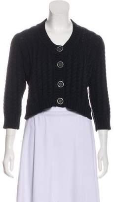Burberry Heavy Knit Cardigan