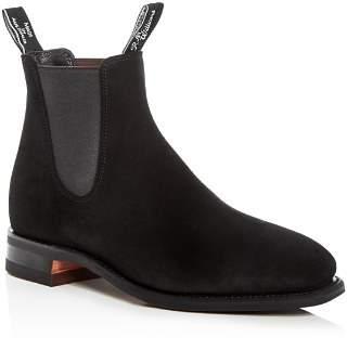R.M. Williams Men's Suede Chelsea Boots