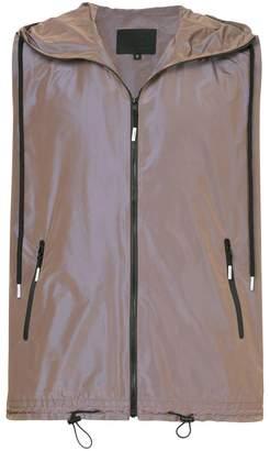 99% Is zipped loose fit vest