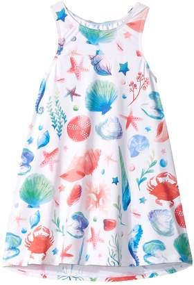 Hatley Ocean Treasures Swim Dress Cover-Up Girl's Swimwear
