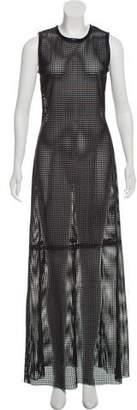 BLK DNM Perforated Maxi Dress