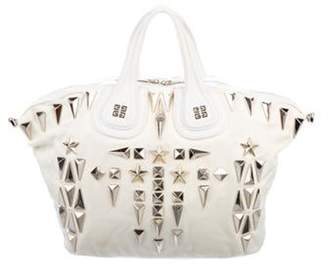 Givenchy Medium Nylon Nightingale Bag gold Medium Nylon Nightingale Bag