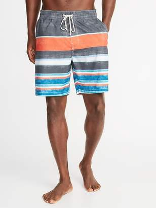 Old Navy Printed Swim Trunks for Men - 8-inch inseam