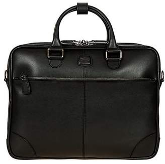 Bric's Varese Business Saffiano Leather Large Briefcase