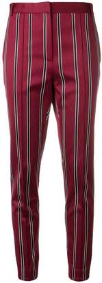 Rokh striped skinny trousers