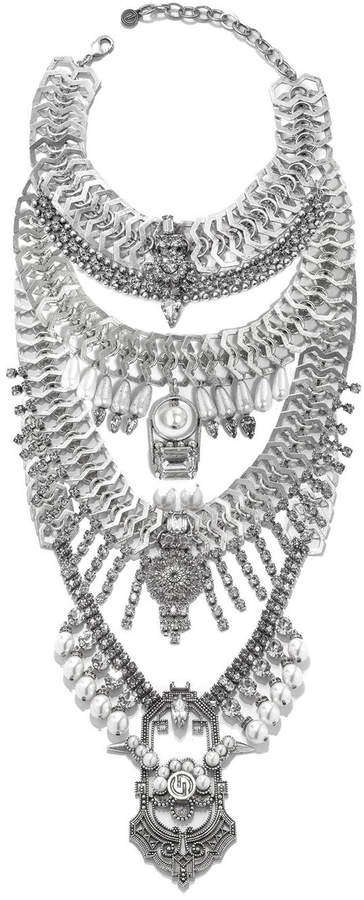 DYLANLEX Falkor VII Crystal Statement Necklace