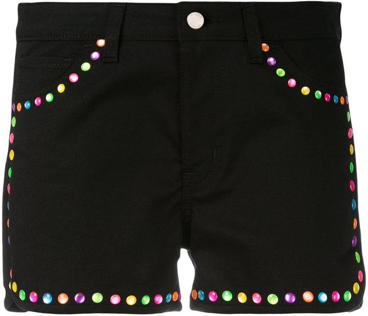 Love MoschinoLove Moschino embellished trim shorts