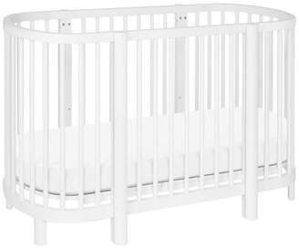 Babyletto Hula Convertible Oval Crib and Mini With Mini Pad