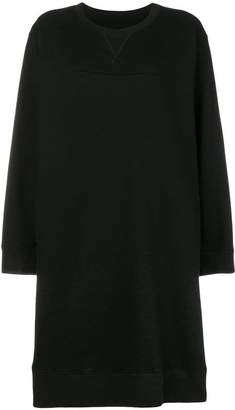 MM6 MAISON MARGIELA crew neck jersey dress