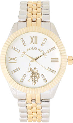 U.S. Polo Assn. USC40327 Two-Tone Watch