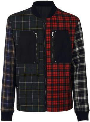 Lanvin Patchwork Checked Jacket