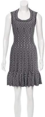 Alaia Pattern Mini Dress w/ Tags