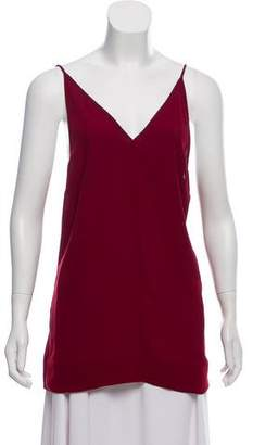 By Malene Birger Silk Sleeveless Top