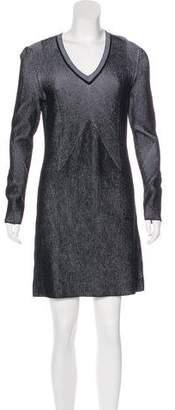 Damir Doma Rib Knit Sweater Dress