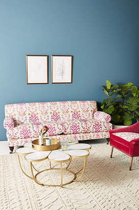 Anthropologie Purcella-Printed Willoughby Sofa