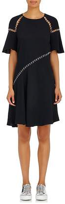 A.L.C. Women's Mitchel Ring-Accented Crepe Dress