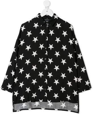 MonnaLisa star print shirt