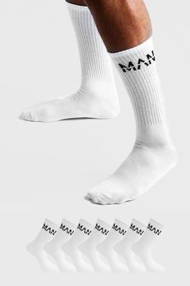 boohoo MAN Dash 7 Pack Sport Socks