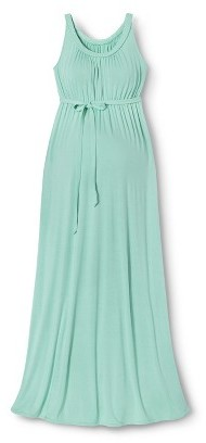 Liz Lange for Target Maternity Sleeveless Braided Maxi Dress Sunglow Green for Target®
