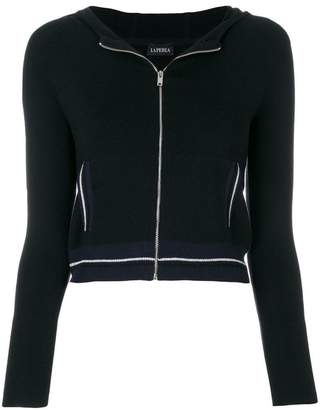 La Perla Silk Soul zipped cardigan
