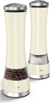 Morphy Richards Accents Electronic Salt & Pepper Mill Ivory