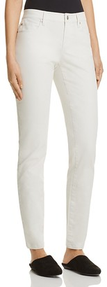 Eileen Fisher Skinny Jeans in Bone $198 thestylecure.com