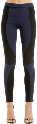 Versace Stretch Jersey Biker Pants