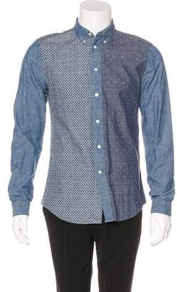 Louis Vuitton Monogram Patchwork Shirt