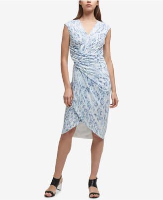 DKNY Twisted Sheath Dress, Created for Macy's