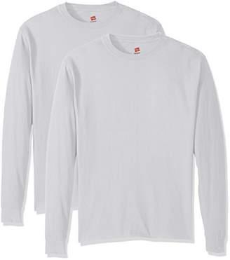 Hanes Men's ComfortSoft Long-Sleeve T-Shirt (Pack of 2)
