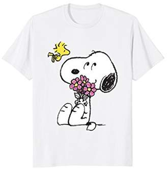 Peanuts Snoopy mother's love flowers Long Sleeve T-shirt