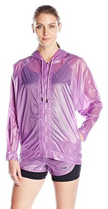 Juicy Couture Black Label Women's Sport Sheer Nylon Packable Jacket $24.68 thestylecure.com