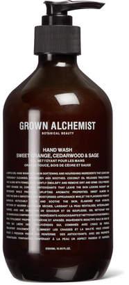 Grown Alchemist - Hand Wash - Sweet Orange, Cedarwood & Sage, 500ml