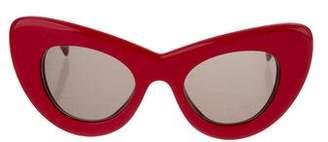 Celine Papillon Cat-Eye Sunglasses