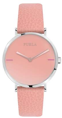 Furla Giada Leather Strap Watch, 33mm