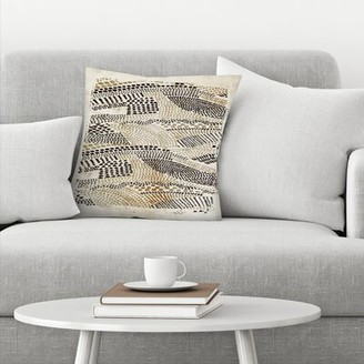 East Urban Home Flicker Throw Pillow East Urban Home