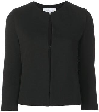 Harris Wharf London plain fitted jacket