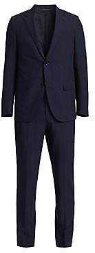 Ermenegildo Zegna Men's Leggerissimo Wool & Silk Check Suit