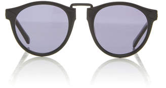 e28d5f0855 Karen Walker Monumental by Hemingway Polarized Round Sunglasses
