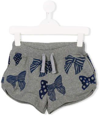 Stella McCartney bow print shorts