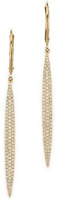 Bloomingdale's Diamond Micro Pavé Drop Earrings in 14K Yellow Gold, .65 ct. t.w. - 100% Exclusive