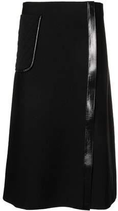 Salvatore Ferragamo mid-length A-line skirt