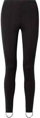 Balenciaga Jogger Stretch-ponte Stirrup Leggings - Black