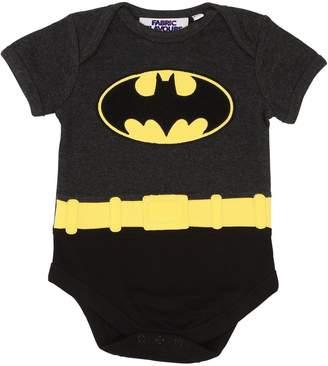 Batman Print Cotton Jersey Bodysuit