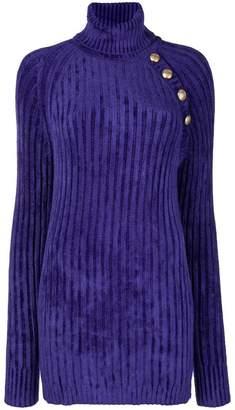 Balmain long knit sweater